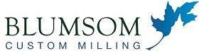 www.blumsomcustommilling.com Logo